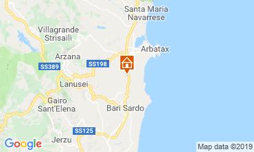 Map Tortolì Mobile home 119763