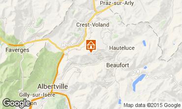 Map Les Saisies Apartment 29137