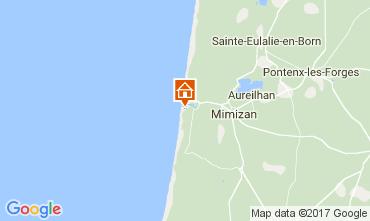 Map Mimizan Apartment 112735