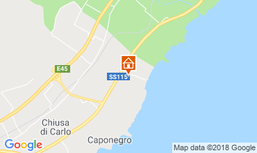 Map Avola Villa 116152