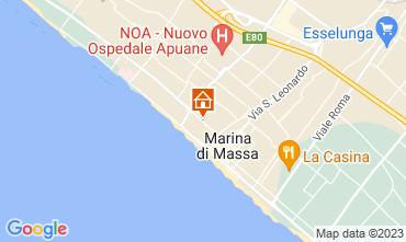Map Forte dei Marmi Apartment 117931