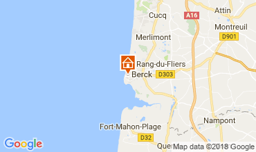 Map Berck-Plage Apartment 114685