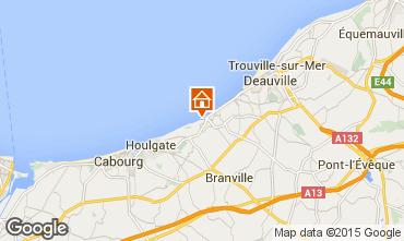 Map Villers sur Mer House 42353