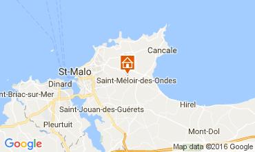 Map Saint Malo House 106998
