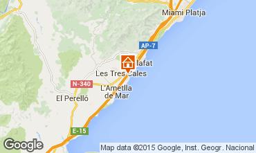 Map La Ametlla de Mar Chalet 77819