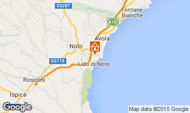 Map Noto Villa 82978