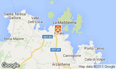 Map Palau Apartment 94242
