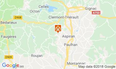 Map Clermont l'Hérault Villa 103881