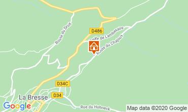 Map La Bresse Hohneck Apartment 4526