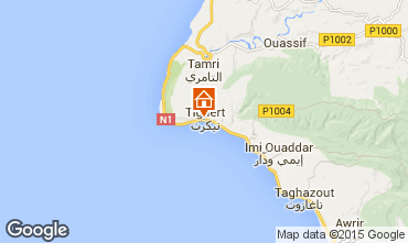 Map Agadir Apartment 74424