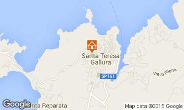 Map Santa Teresa di Gallura Apartment 87777