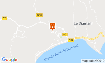 Map Le Diamant Villa 111957