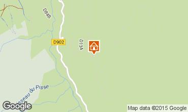 Map Sainte Foy Tarentaise Chalet 4780