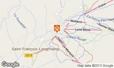 Map Saint François Longchamp Apartment 73582