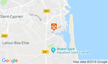 Map Saint Cyprien Villa 118241