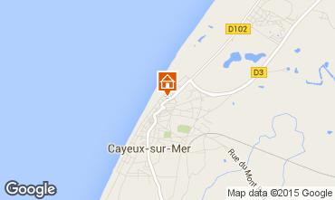 Map Cayeux-sur-Mer Apartment 80866