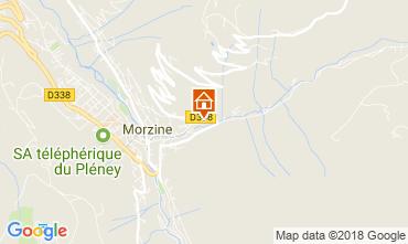 Map Morzine Chalet 1933
