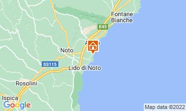 Map Avola Apartment 63092
