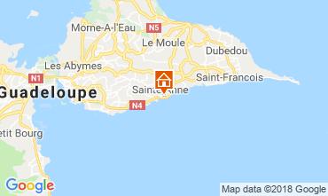 Map Sainte Anne (Guadeloupe) Apartment 116656
