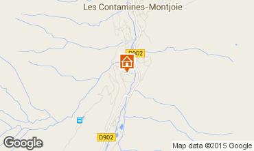 Map Les Contamines Montjoie Flat 927