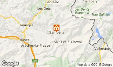 Map Samoëns Chalet 100256