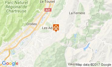 Map Les Sept Laux Apartment 112719