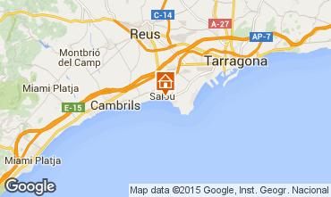 Map Salou Apartment 94659