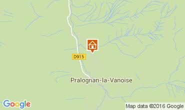 Map Pralognan la Vanoise Apartment 103987