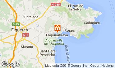 Map Empuriabrava Villa 68863