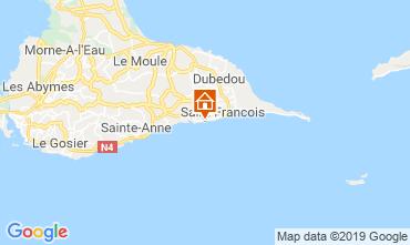 Map Saint Francois Studio apartment 67258