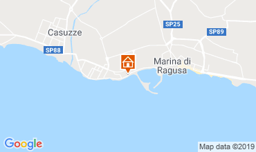Map Marina di Ragusa Apartment 34177