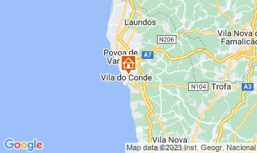 Map Vila do Conde Apartment 75567