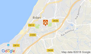 Map Bidart Apartment 115799