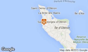 Map Saint Georges d'Oléron House 39090