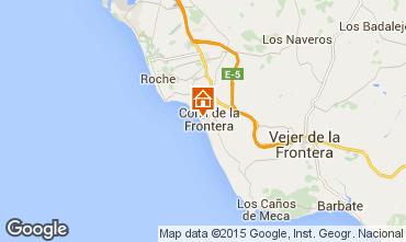 Map Conil de la Frontera Apartment 94764