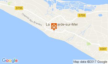 Map La Couarde-sur-Mer Apartment 108370