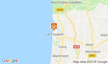 Map Le Touquet Studio apartment 117441