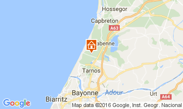 Map Capbreton House 106648