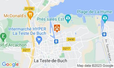 Map La Teste de Buch Apartment 92237