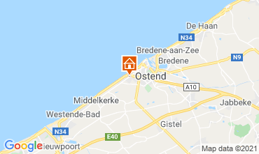 Map Ostend B&B 72510