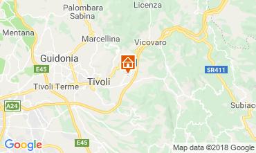 Map Tivoli Apartment 80302