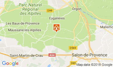 Map Eygalières House 114873