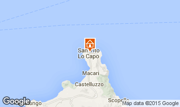 Map San Vito lo Capo Apartment 83160