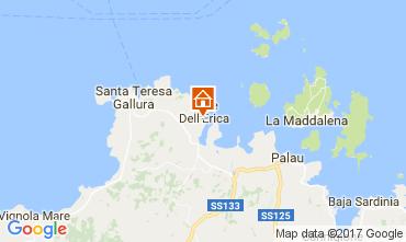 Map Santa Teresa di Gallura Villa 109704