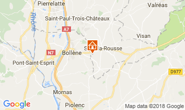 Map Suze la Rousse House 113750