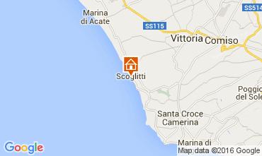 Map Scoglitti Apartment 71287