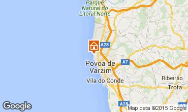Map Póvoa de Varzim Apartment 53916