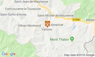 Map Valloire Chalet 116466