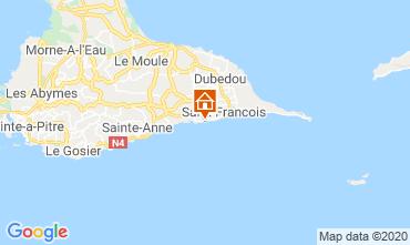 Map Saint Francois Studio apartment 68998