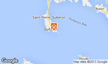 Map Quiberon Apartment 17507